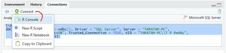How to Connect and Read data from SQL Server Databse in R   Microsoft Power  BI   SQL Server   T-SQL   SSIS   R Programming