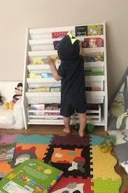 Childrens Sling Book Self Kid S Wooden Book Book Storage Etsy