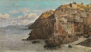 Telemaco Signorini, the Macchiaioli painting art and the Riomaggiore  skirts. - DoinItaly Travel Blog and Experiences