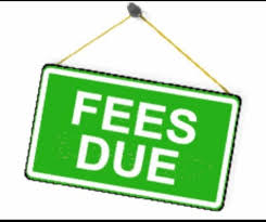 Image result for fees due