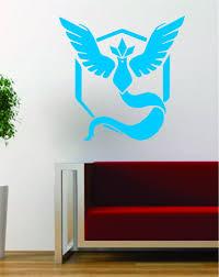 Pokemon Go Team Mystic Logo Game Gamer Design Decal Sticker Wall Vinyl Boop Decals