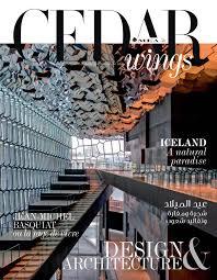 Cedar Wings Magazine Design Architecture December 2018