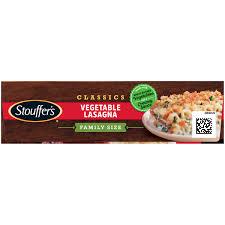 stouffers clics vegetable lasagna