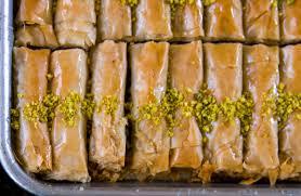 layers of delight finger baklava