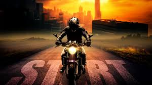 wallpaper biker motorcycle ride