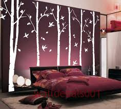 White Birch Tree Wall Decal Wall Sticker From Walldecals001 On