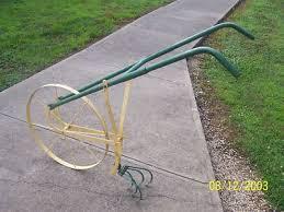 high wheel garden cultivator antique