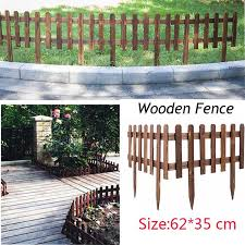 Wood Fence For Home Garden Decoration Shopee Philippines