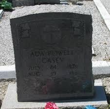 Ada Powell Casey (1870-1951) - Find A Grave Memorial