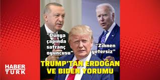 ABD Başkanı Trump'tan Joe Biden ve Cumhurbaşkanı Erdoğan yorumu - Dünya  Haberleri