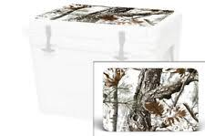Skin Decal Wrap For Yeti Tundra 65 Qt Cooler Lid Artic Camo For Sale Online Ebay