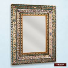 novica reverse painted glass wall