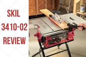 Skil 3410 02 10 Inch 15 Amp Table Saw W Folding Stand Review