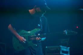 Aaron Marshall of INTERVALS and his aqua... - Aristides Guitars   Facebook