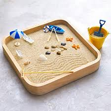 com mini sandbox for desk