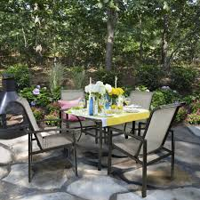 croquet club patio dining table