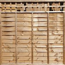 Overlap Panels With Built In Trellis 6ft X 3ft 1ft Rhf Fencing Supplies Isle Of Wight