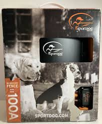 New Open Box Sportdog 100 Acre In Ground Electric Fence System Dog Sdf 100a Ebay