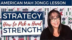 american mah jongg lesson strategy how