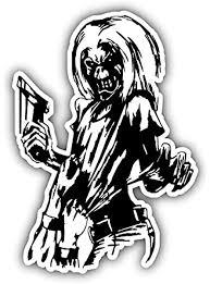 Iron Maiden Killers Car Bumper Sticker Decal 4 X 5 Amazon Com