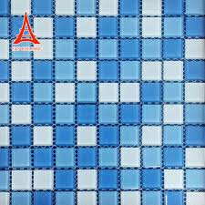 glass mosaic picture swimming pool