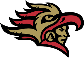 San Diego State Aztecs Alternate Logo 2002 2012 Aztec Head Wearing Traditional Cermonial Headress In 2020 Aztec Warrior Aztec Diego