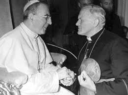 Carol Wostyla con el papa J.P. I