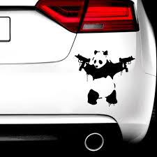 Hot Sale 39d981 Cute Panda Car Sticker Funny Sticker Vinyl Decal Waterproof Decoration Accessories Car Decal Cicig Co
