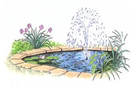 waterfall for a water garden pond