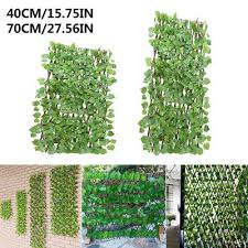 Artificial Hedge Leaves Faux Ivy Leaf Privacy Fence Screen Garden Greenery Panel Decor Backyards Decoration 100x50cm 25x50 Pcs Buy At A Low Prices On Joom E Commerce Platform