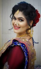 maharashtrian bridal makeup hairstyles