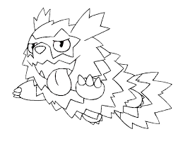 Kleurplaat Pokemon Sword And Shield Galarian Form Zigzagoon