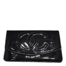 wallet patent leather black vintage wallet