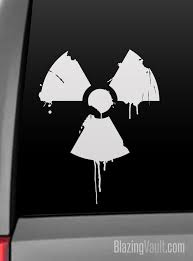 Dripping Grunge Radioactive Decal Toxic Steampunk Zombie Etsy
