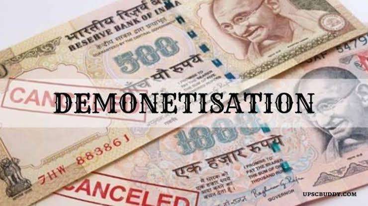 Image result for demonetisation in india