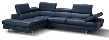 a761 italian leather sectional sofa in