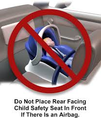 rear facing child safety seat