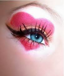 queen of hearts makeup ideas there