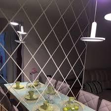 Decorative Mirror Wall Decals Fleur La Stella