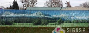 Request A Quote Custom Chain Link Fence Slats Signs For Success