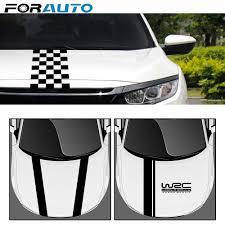 Diy Car Wrap Film Wrc Stripe Car Covers Vinyl Racing Sports Decal Head Car Sticker For Ford Focus Cruze Renault Accessories Car Stickers Aliexpress
