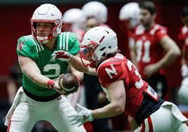 Husker notes: Adrian Martinez steps up as a leader as competition ...