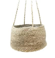 trouva tapered hanging plant pot