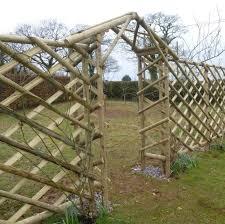 Rustic Trellis Arch Hartwells Fencing