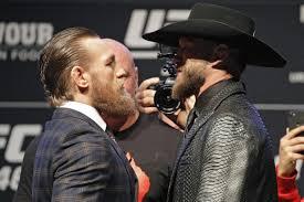 Conor McGregor vs Donald 'Cowboy' Cerrone weigh-in LIVE stream: UK ...