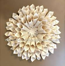 decorating wall hanging paper creative