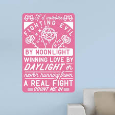 If It Involves Fighting Evil By Moonlight Wall Decal 40 Originally 39 Sailor Moon Gifts For Anyone Who Grew Up Wishing They Could Fight Evil By Moonlight Popsugar Tech Photo 40
