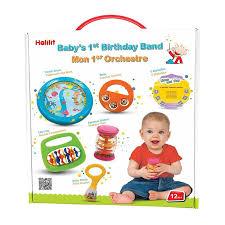 first birthday band gift set