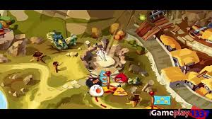 ANGRY BIRDS EPIC: Old Nesting Barrows 4 - Walkthrough for iPhone ...