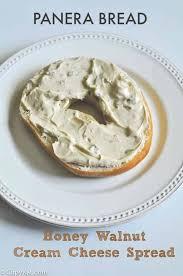 panera bread honey walnut cream cheese